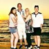 Frank U. mit seiner Familie